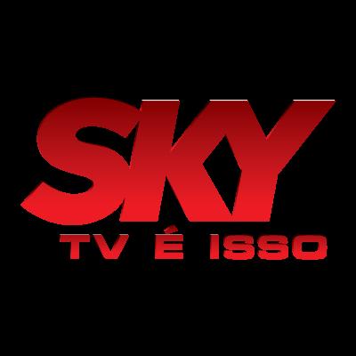 Sky TV logo vector logo