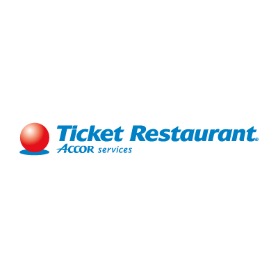 Ticket Restaurant logo vector logo