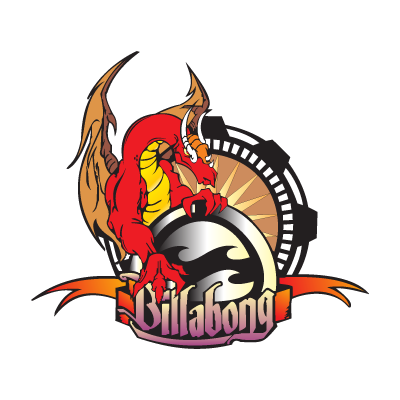 Billabong Dragão logo vector logo