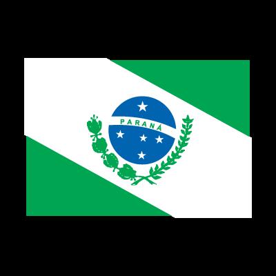 Flag of Bandeira Paraná vector logo