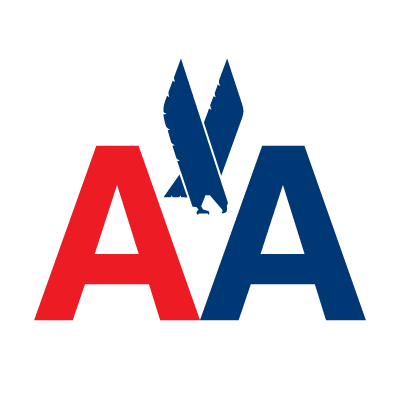 American Airlines AA logo vector logo