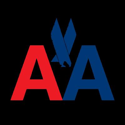 American Airlines AA logo vector logo
