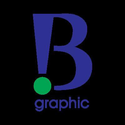 B Graphic logo vector logo