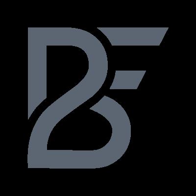B2F logo vector logo