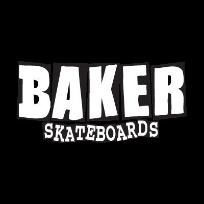 Baker Skateboards logo vector logo