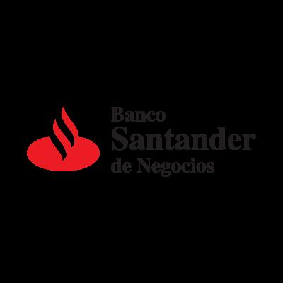 Banco Santander logo vector logo