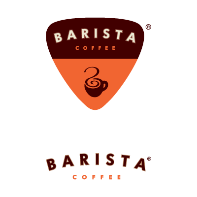 Barista India logo vector logo