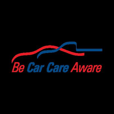 Be Car Care Aware logo vector logo