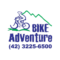 Bike adventure logo