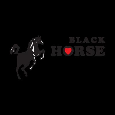 Black Horse logo vector logo
