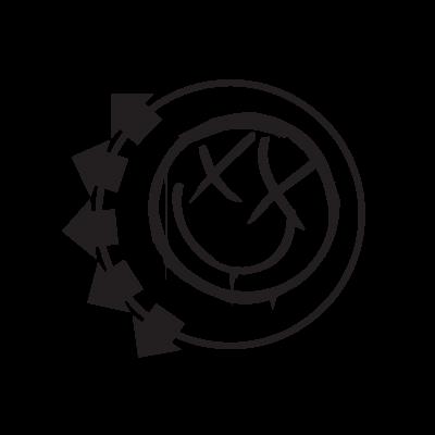 Blink 182 logo vector logo