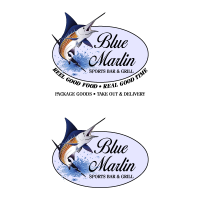 Blue Marlin Cafe logo