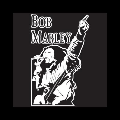 Bob marley  vector logo