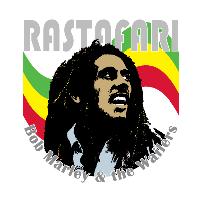 Bob Marley music vector logo