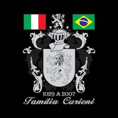 Brasao Familia Curioni vector logo