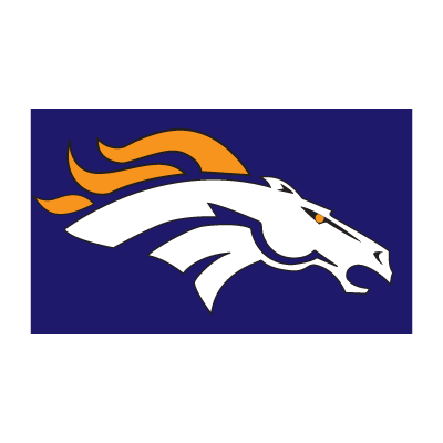 Bronco de denver logo vector logo