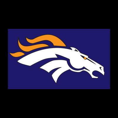 Bronco de denver logo vector logo