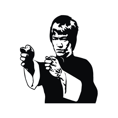 Bruce Lee vector logo