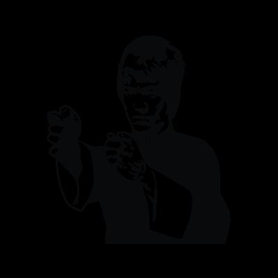 Bruce Lee vector logo
