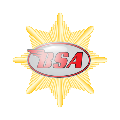 BSA Motorcycles logo vector logo