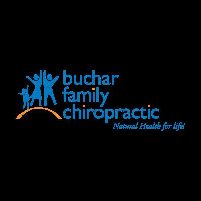 Buchar Family Chiropractic logo vector logo