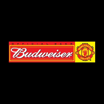 Budweiser Manchester United logo vector logo