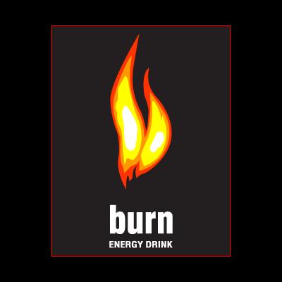 BURN ENERGY DRINK logo vector logo