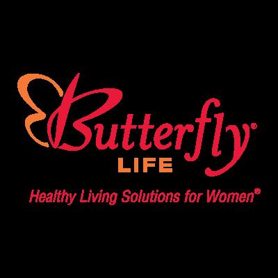 Butterfly Life logo vector logo