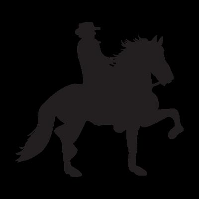 Caballo Costarricense de Paso vector logo