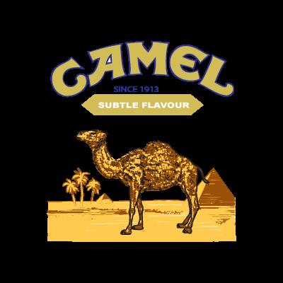 Camel logo vector logo