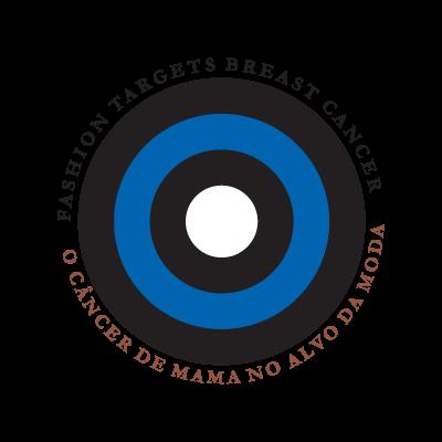 Cancer de Mama no Alvo da Moda logo vector logo
