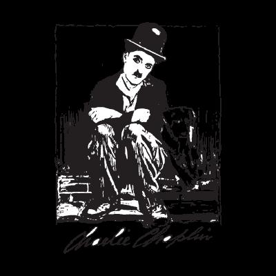 Charlie chaplin vector logo