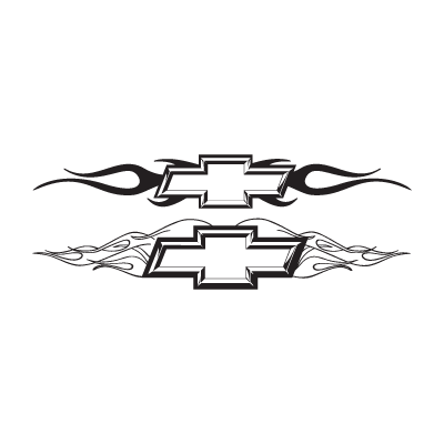 Chevy Chisiled With Flames logo vector logo