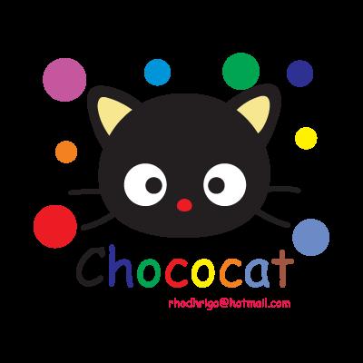 Chococat logo vector logo