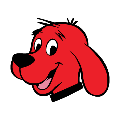 Clifford The Red Dog vector logo