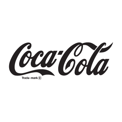 Coca-Cola black logo vector logo