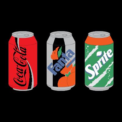 Coca-Cola Products logo vector logo