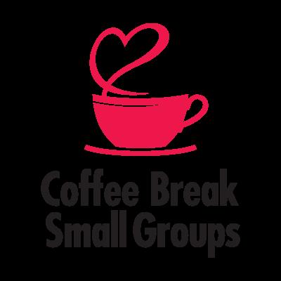Coffee Break Small Groups logo vector logo