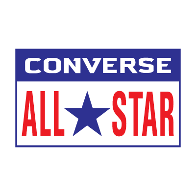 Converse All Star  logo vector logo