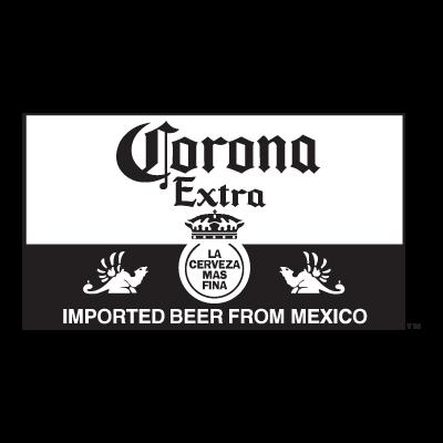 Corona Extra Black  logo vector logo