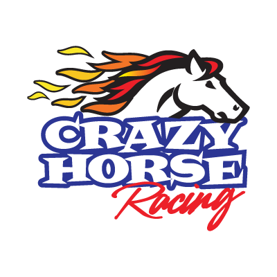 Crazy Horse Racing logo vector logo