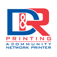 D and R Printing logo