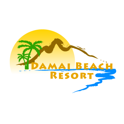 Damai Beach Resort logo vector logo