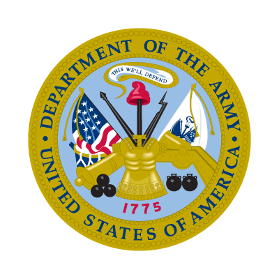 Department of the Army logo vector logo