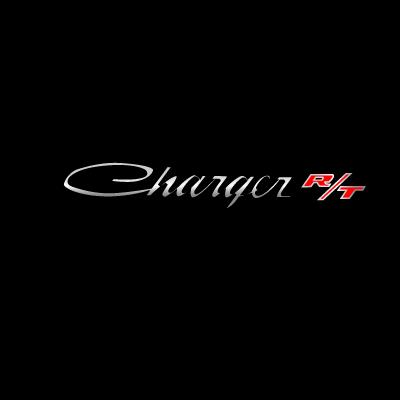 Dodge Charger RT logo vector logo