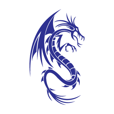 Dragon vector logo