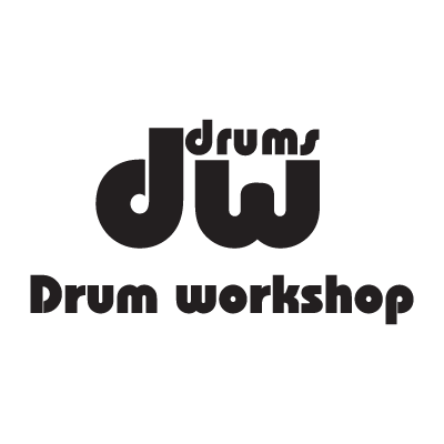 DW Drums logo vector logo