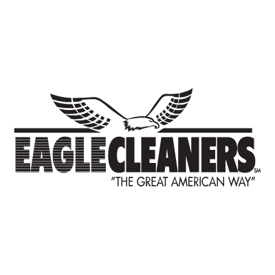 Eagle Cleaners logo vector logo