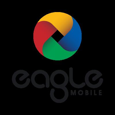 Eagle mobile logo vector logo
