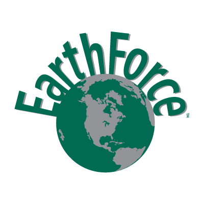 Earth Force logo vector logo